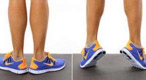 تمرین ورزشی برای تقویت عضلات پا