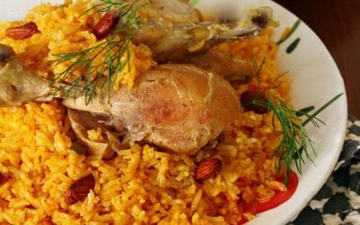 طرز تهیه کبسه مرغ لبنان