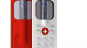 تلفن همراه اضطراری که با باتری قلمی کار میکند